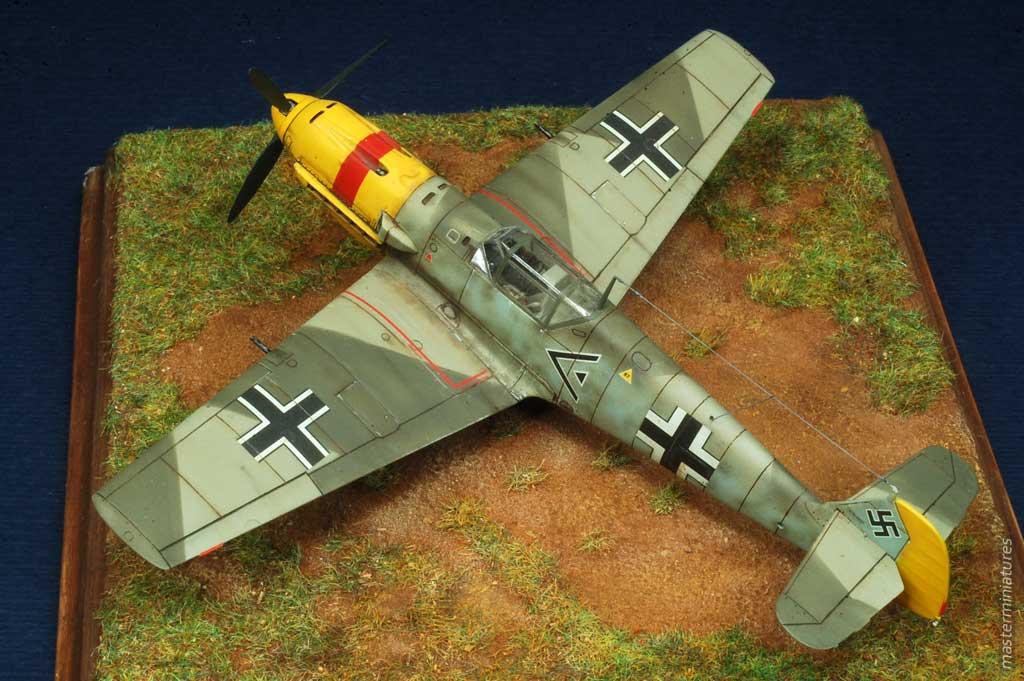 1/48 Messerschmitt Bf 109Z Zwilling - WW2 fighter (Luft