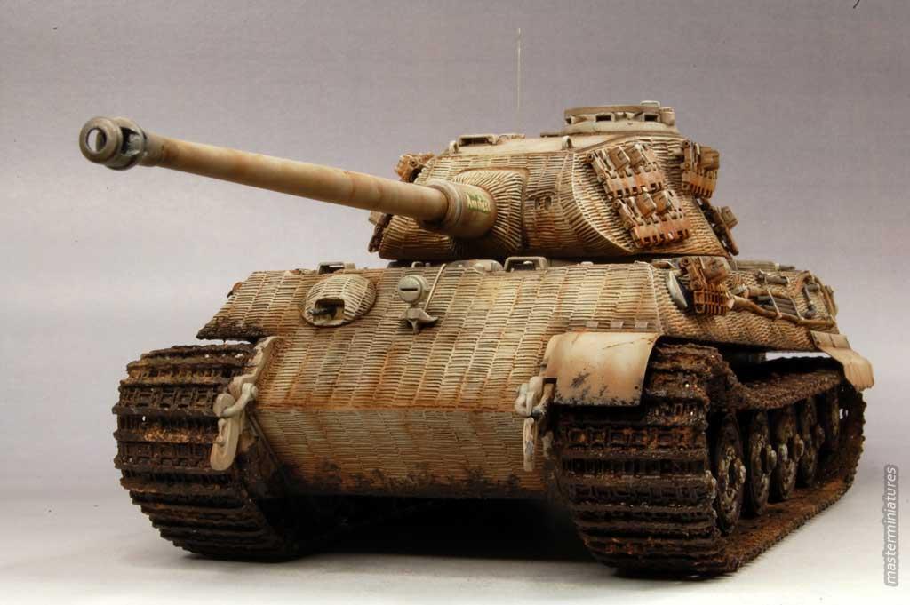 Tiger Ii Porsche Turret Master Miniatures Gallery